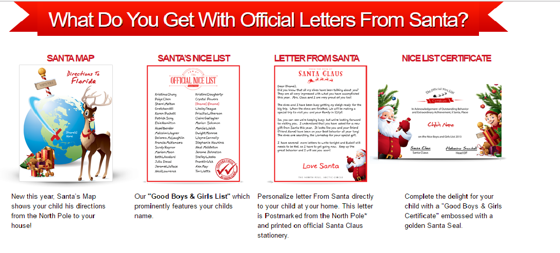 get a letter from santa in the mail free get letters from santa package for 30 limited time 13924