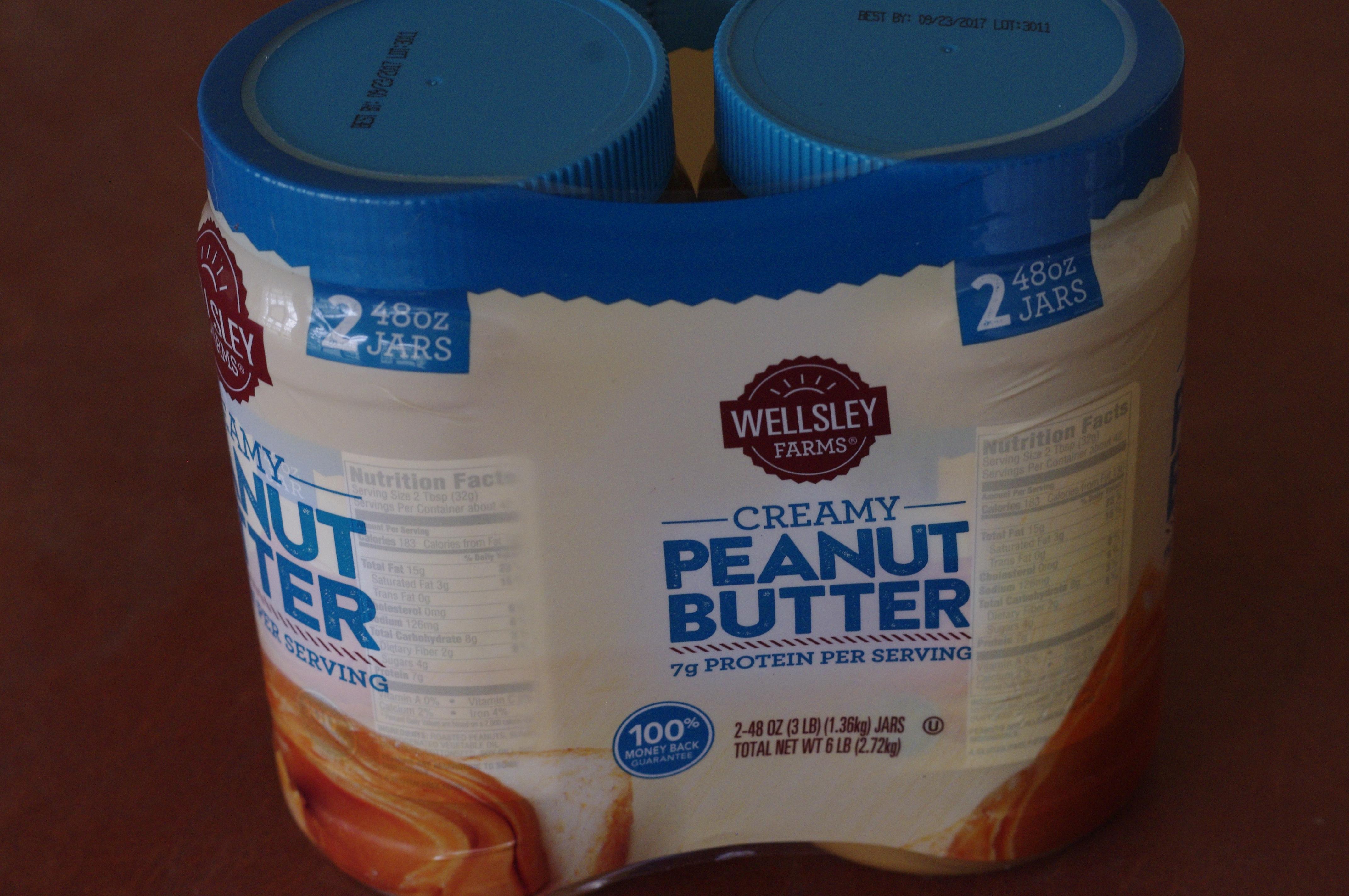 New Wellsley Farms Peanut Butter