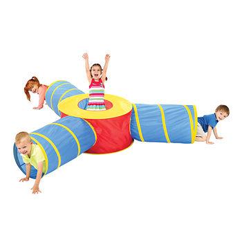 Kids 3-1 play tunnel
