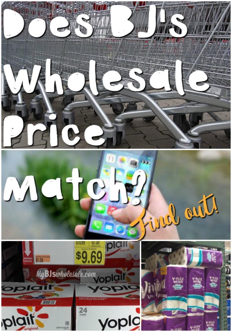 Does BJ's Wholesale Club Price Match? | My BJs Wholesale