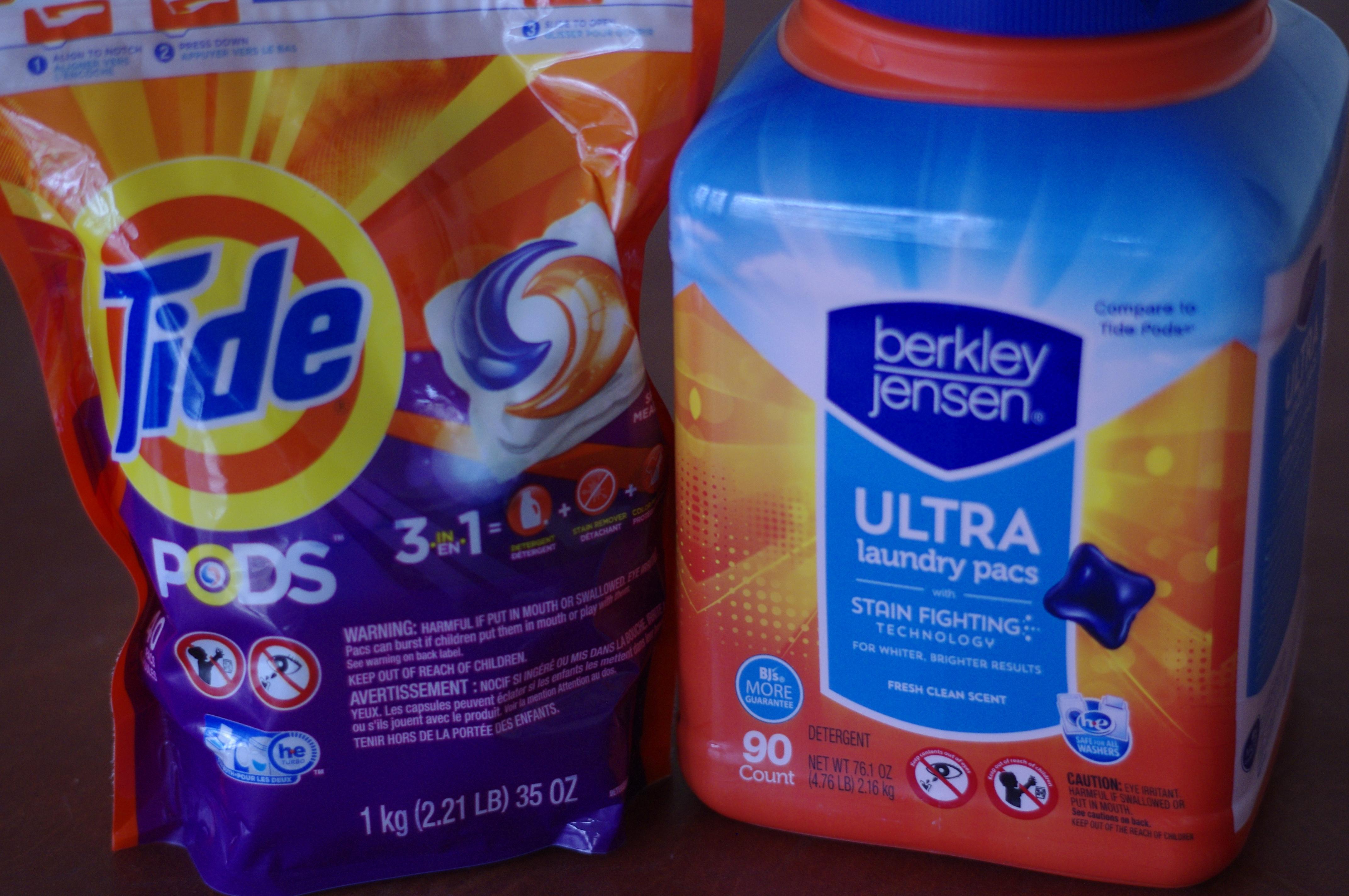 bjs brand laundry detergent tabs