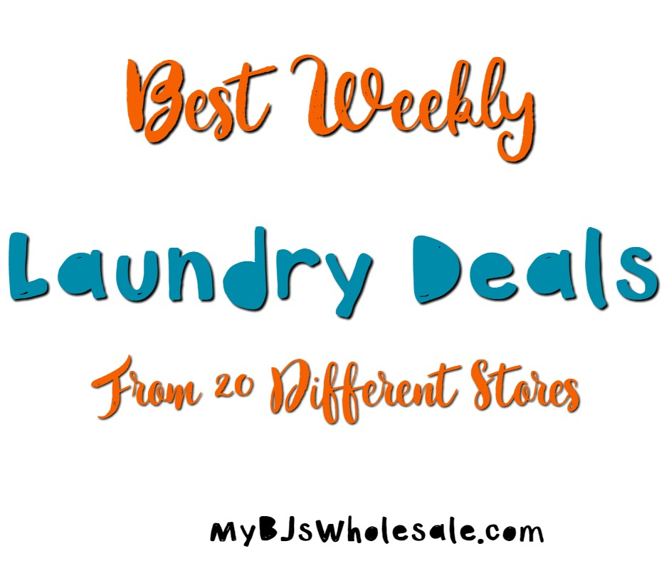laundry deals from 20 different stores