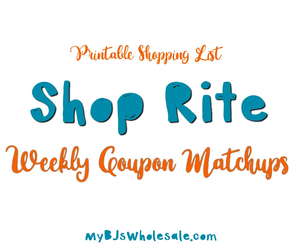 shop rite weekly deals