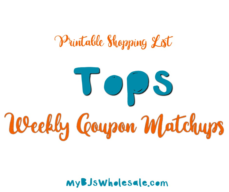 Tops Friendly Markets Coupon Matchups