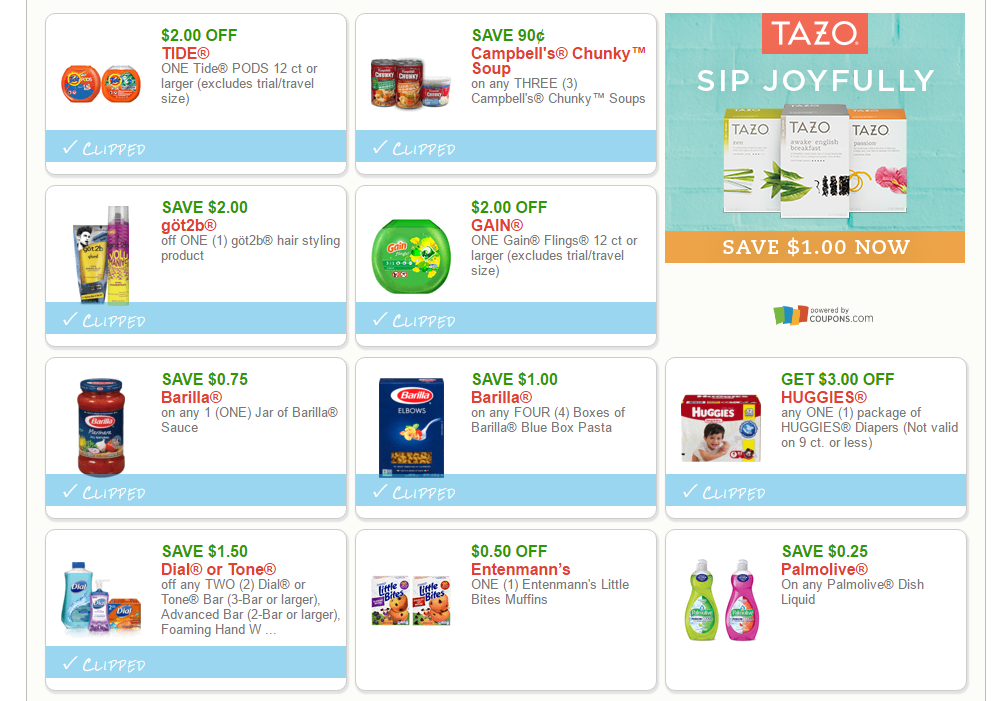 10 most printed coupons on mybjswholesale