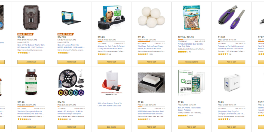 amazon deals today only