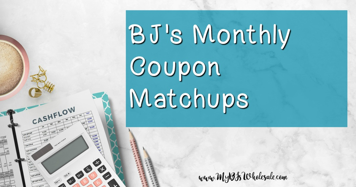 BJs Wholesale Monthly Coupon Matchups