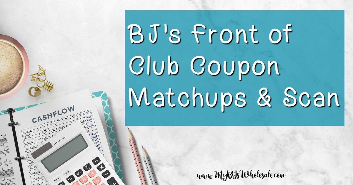 BJs Front of Club Coupon Matchups