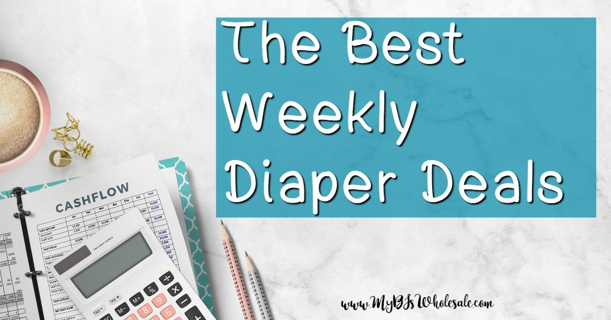 Best Weekly Diaper Deals this week