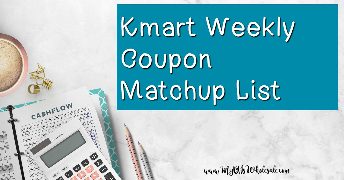 a858ce8785 Kmart Weekly Coupon Matchups