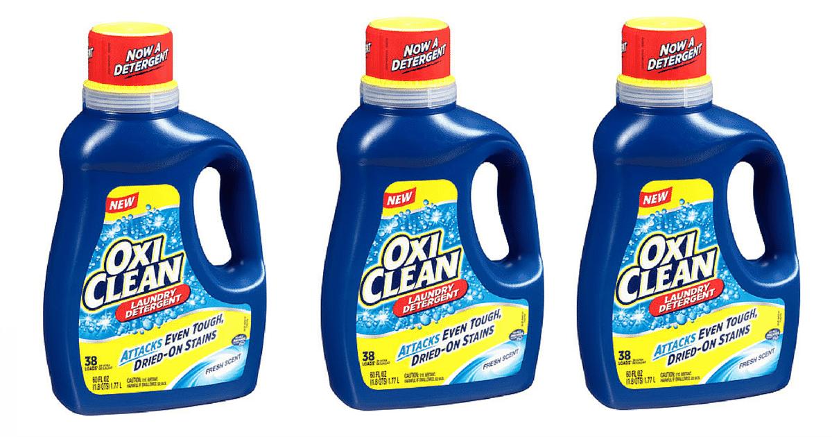 oxiclean detergent