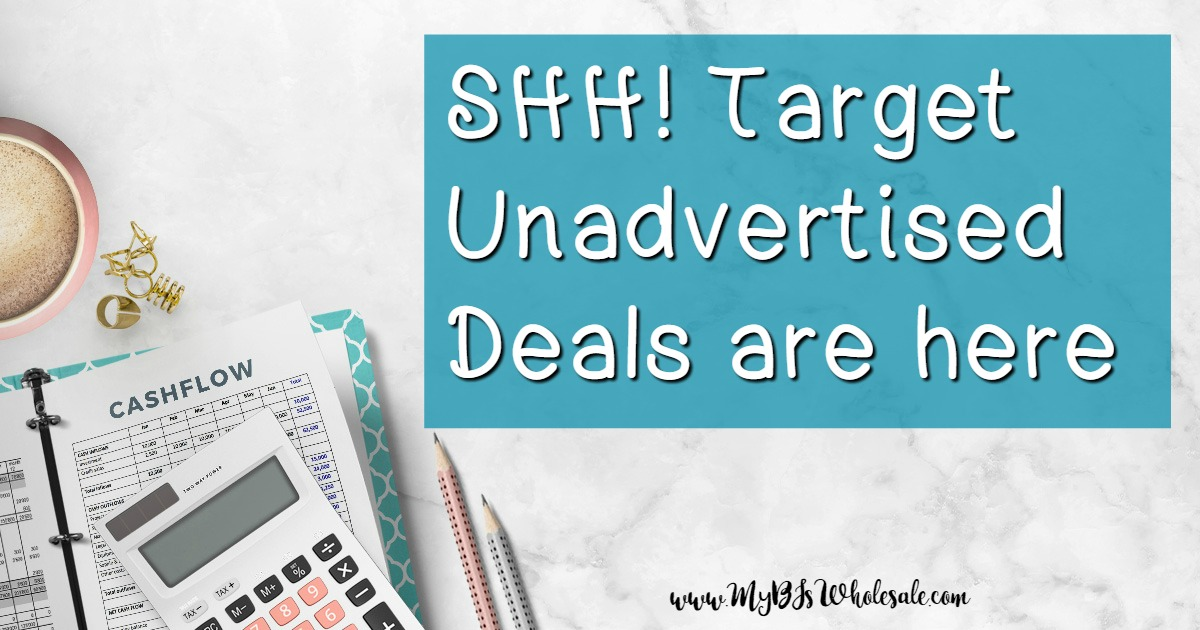 Target unadvertised deals this week