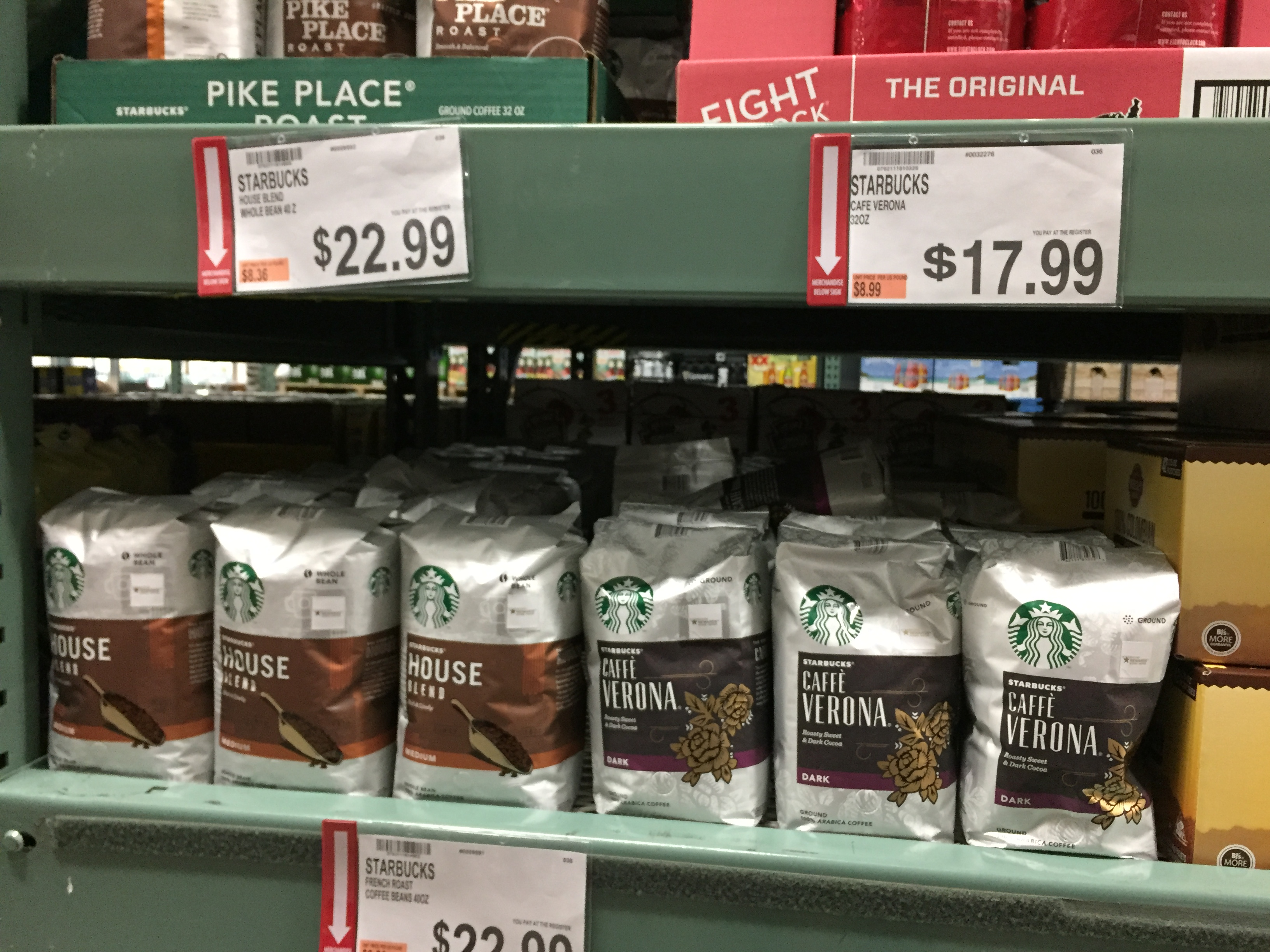 Rare Starbucks Coupon Stack at BJs