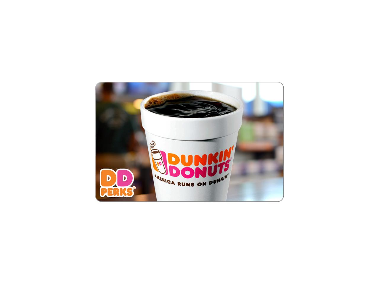 dunkin donuts gift card deal