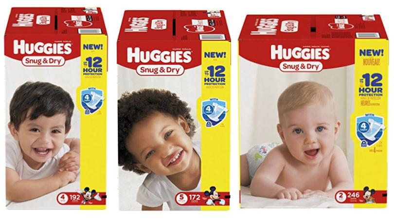 huggies diapers deal on amazon prime
