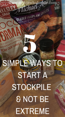 how to start a coupon stockpile without being extreme couponer