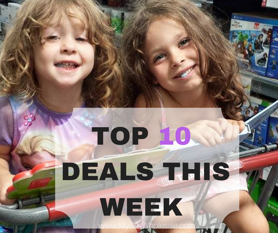top 10 deals at BJs wholesale this wee