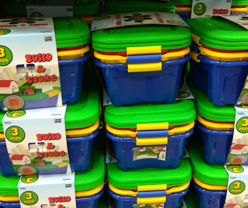 Lego storage bins price at BJs