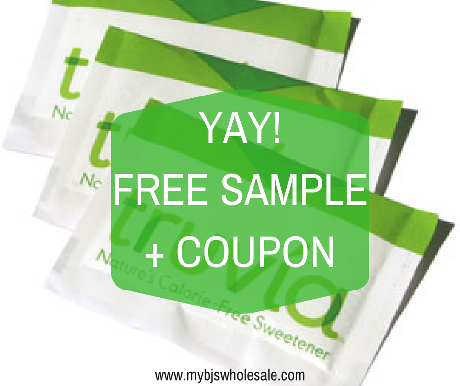 free truvia sample and coupon