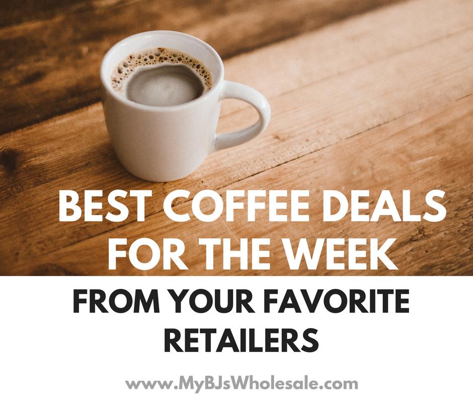 best price on coffee beverages this week