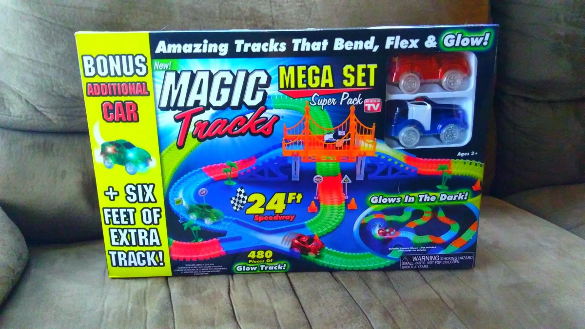 magic tracks mega set giveaway