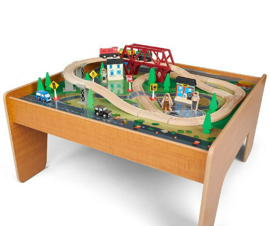 Toys R Us Imaginarium Train Set With Table 55 Piece