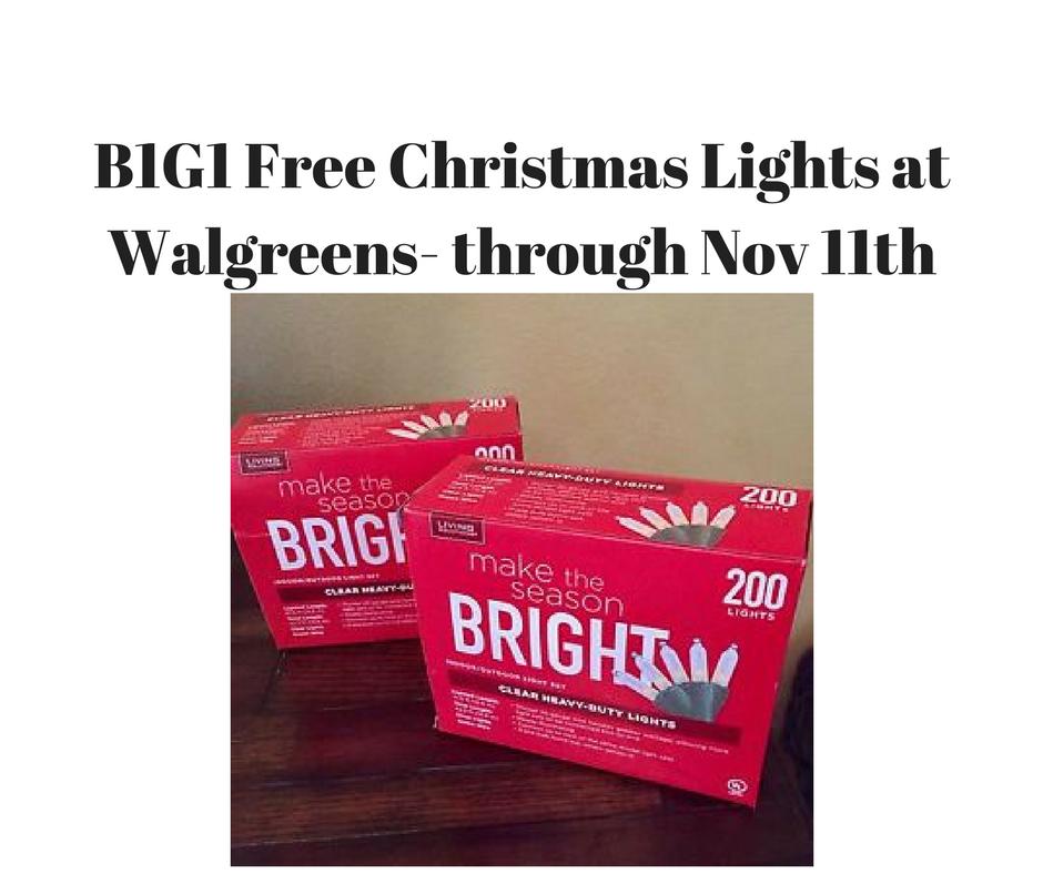 Walgreens Christmas Lights.Walgreens B1g1 Free Christmas Lights Winter Is Coming