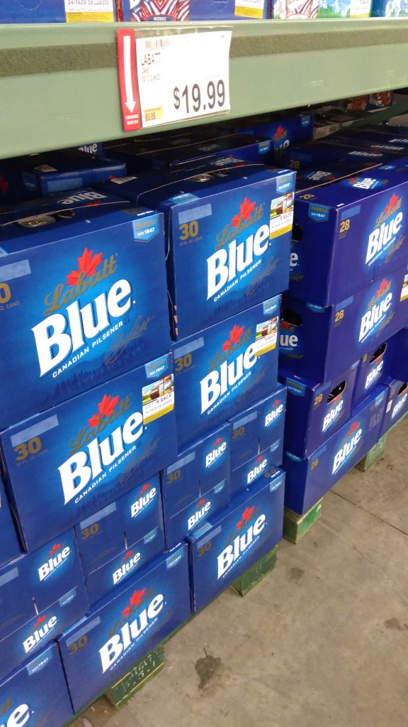 labatt blue prices and deal at BJs wholesale club beer