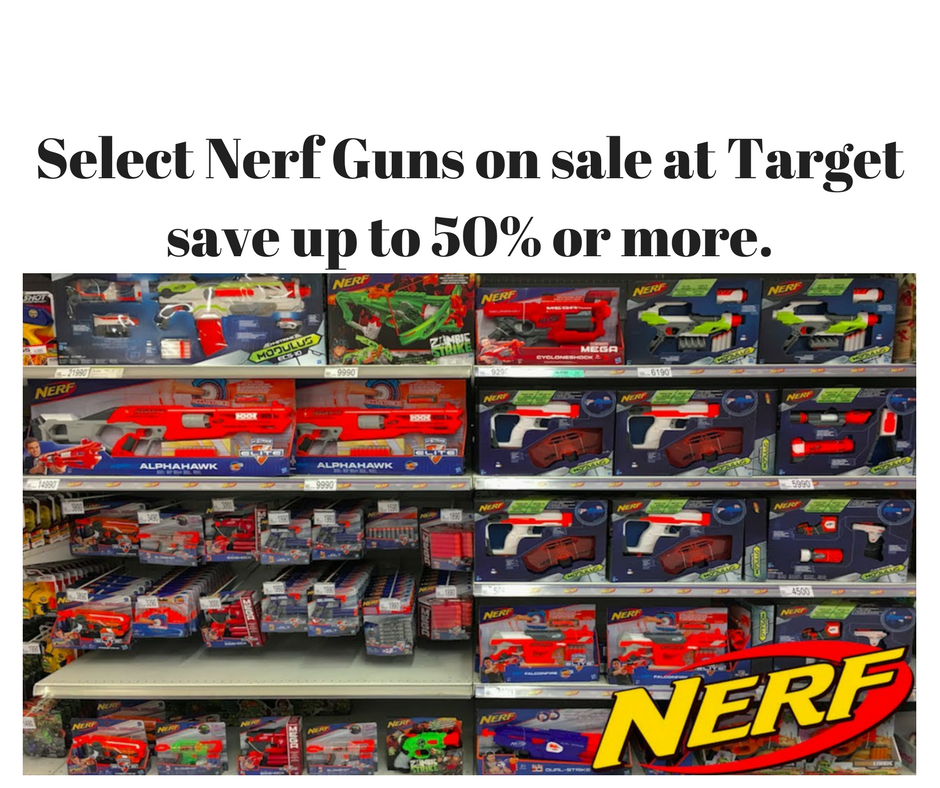 Target Nerf Toy Blasters Are On Sale Until 11