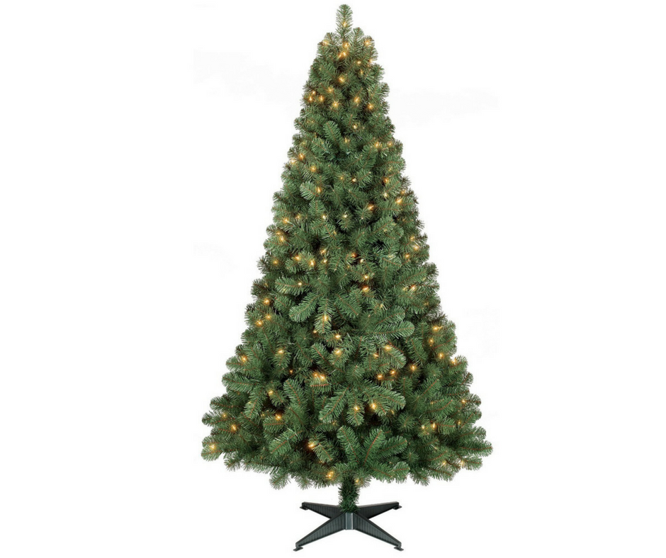 6 Ft Christmas Trees Prelit Only 28 49 Black Friday