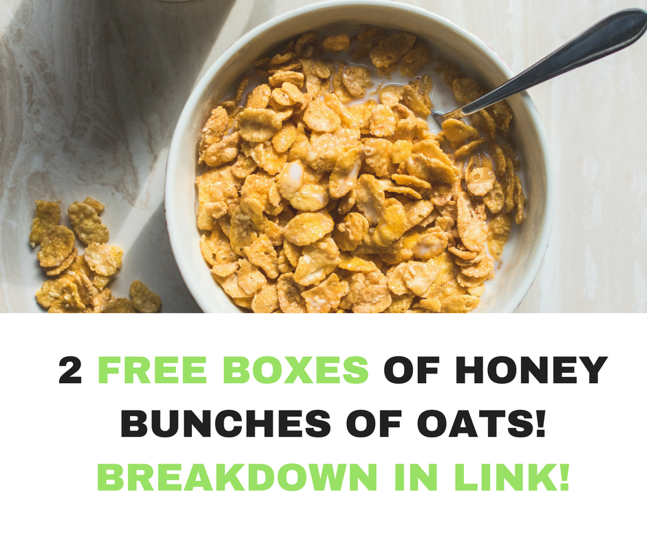 2 Free Boxes of Honey Bunches of Oats