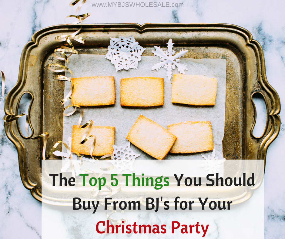 The Top 5 Things You Should Buy From BJu0027s for Your Christmas Party | My BJs Wholesale  sc 1 st  My BJs Wholesale & The Top 5 Things You Should Buy From BJu0027s for Your Christmas Party ...
