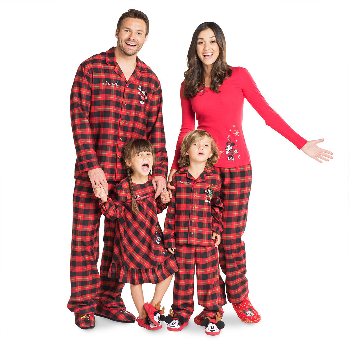 ShopDisney Winter Pajamas for the Whole Family