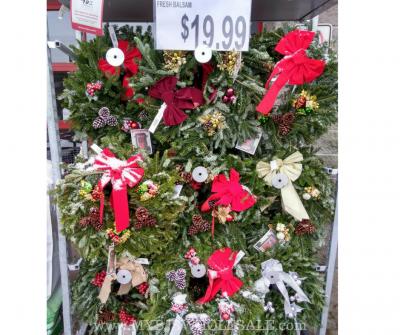 wreath-fresh-cut-price-bjs