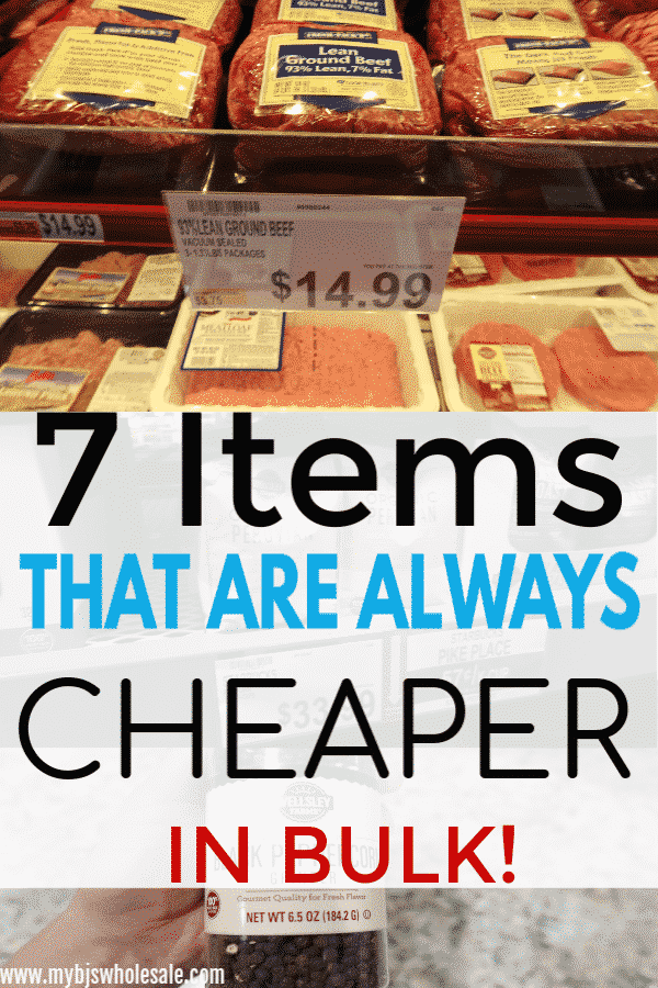 7 Things to Always Buy From Wholesale Clubs