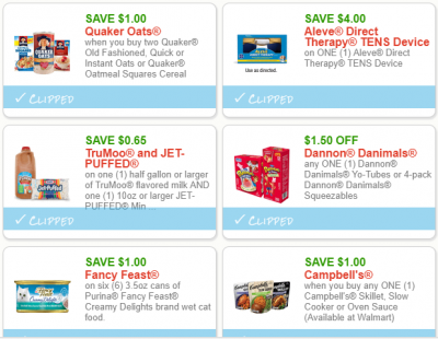 Whoa! So Many New Coupons! Print Quaker, Werthers, Dannon & More ...