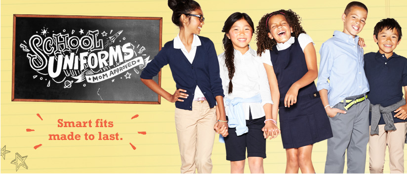 Old Navy School Uniforms $5 Limited Time