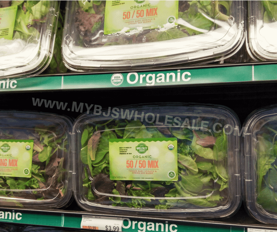 wellsley farms organic salad bjs