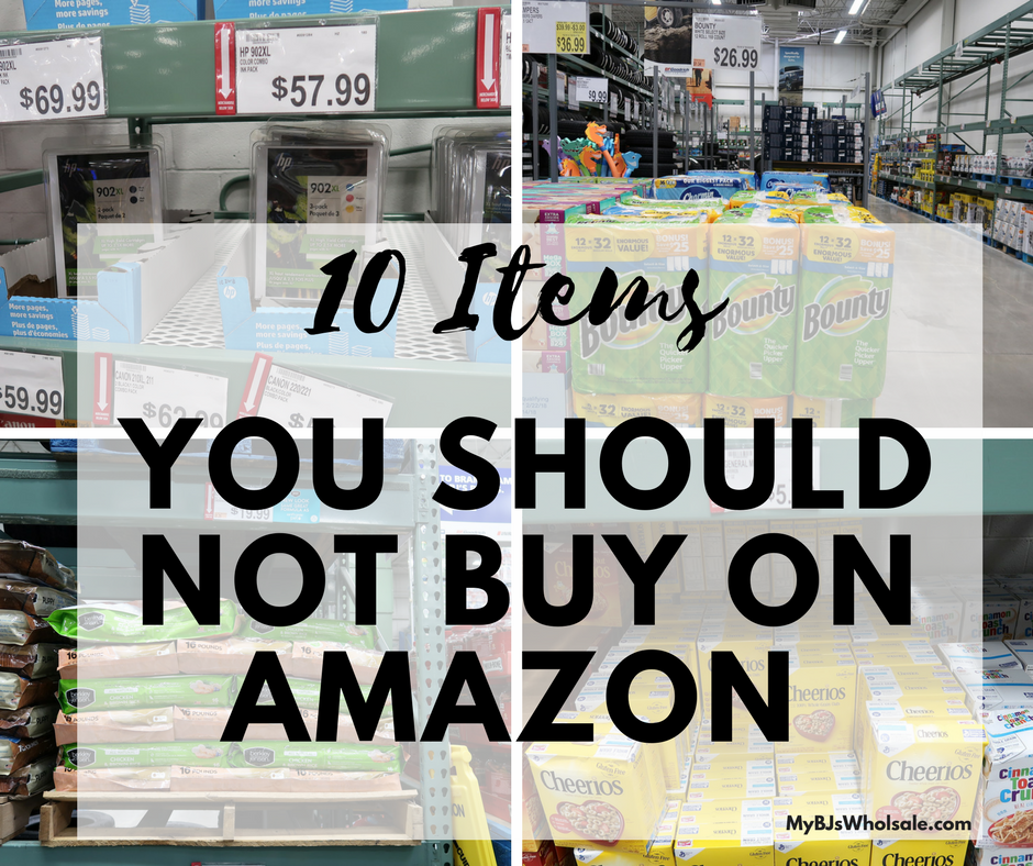 things to not buy on amazon