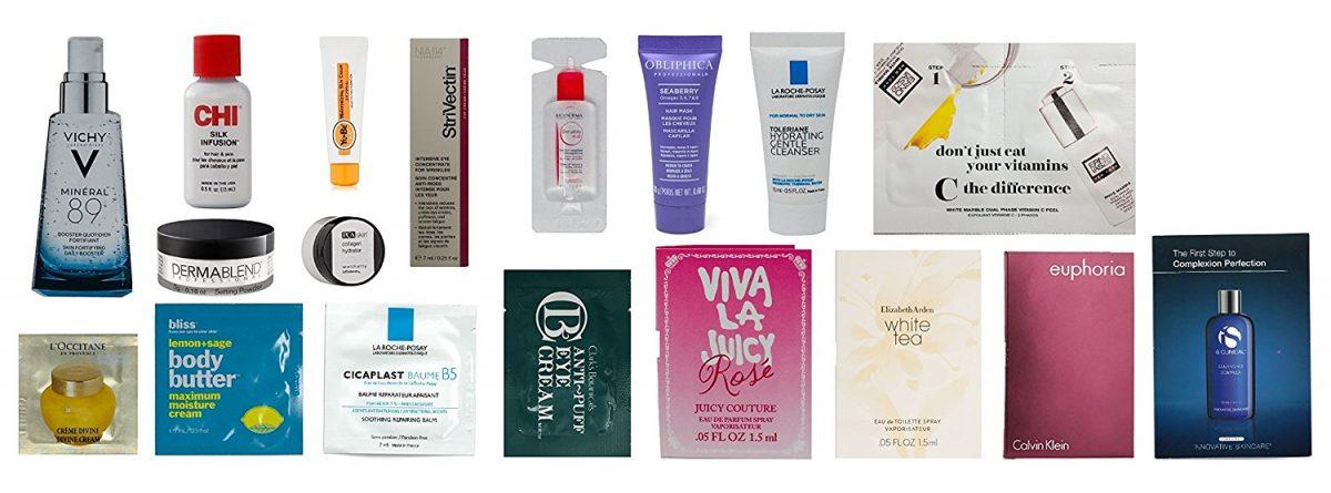 B1G1: Amazon Women's Luxury Beauty Sample Box $20