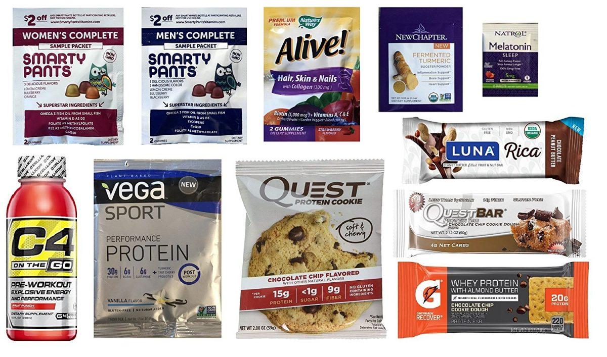 Amazon Wellness Sample Box $7