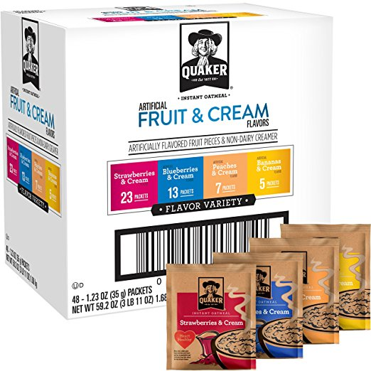 48 Count Quaker Instant Oatmeal | $8.85