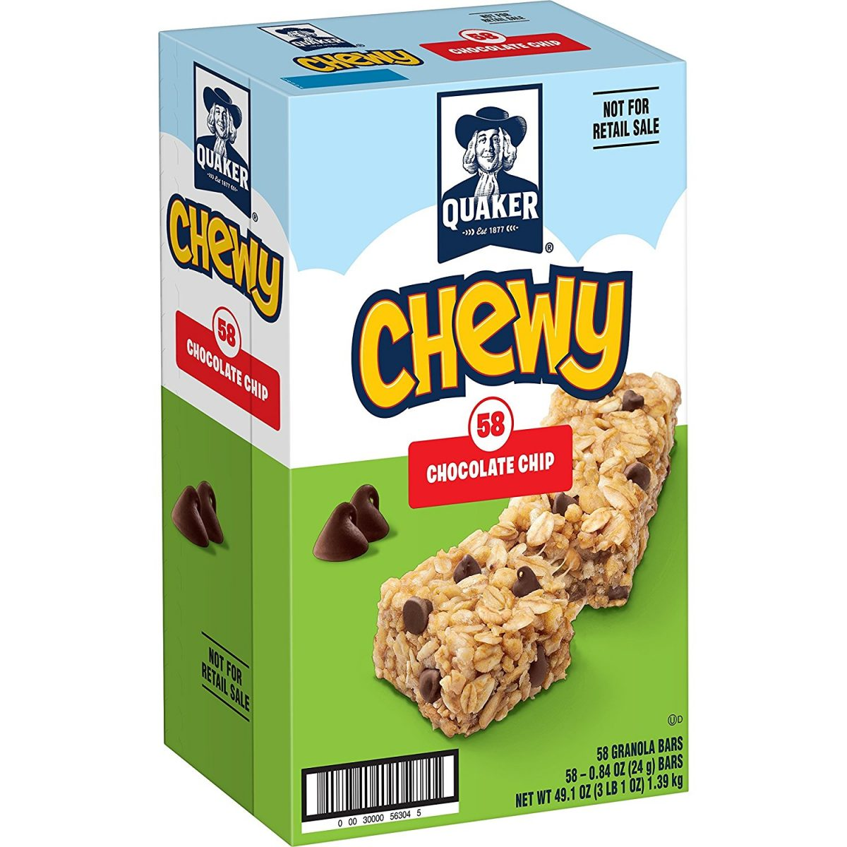 Get A 58 Ct Chewy Granola Bars 0.13 Each! | $7.99