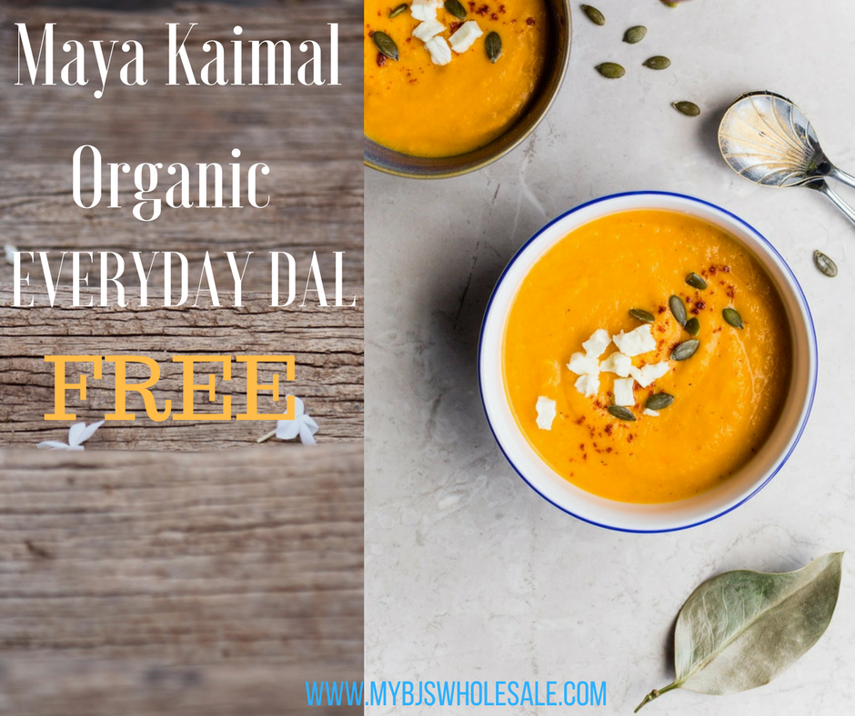 FREE Maya Kaimal Organic Everyday Dal    $4.99 Value