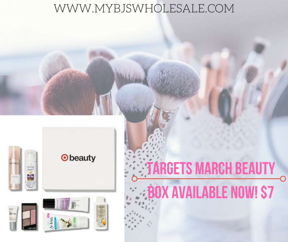 Target Beauty Box- March $7