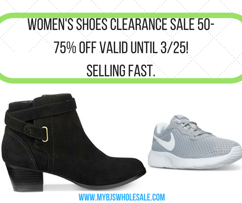 36cfe7fc6c Hurry** Macy's Women's Shoes up to 70% Off | My BJs Wholesale Club