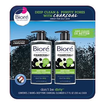 Biore Charcoal Cleanser $1.99