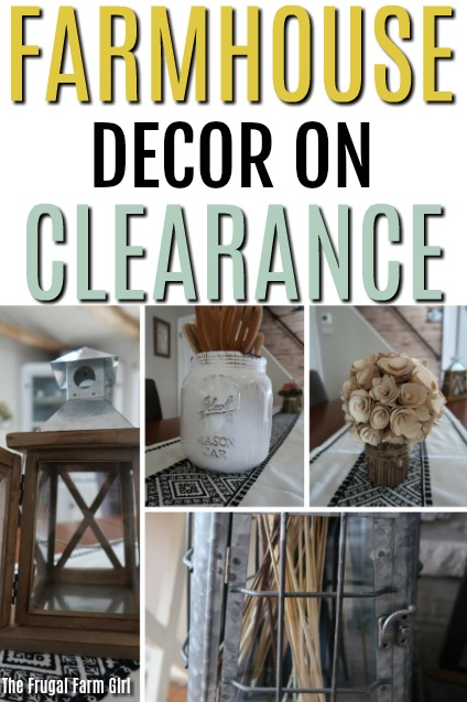 Farmhouse Decor Clearance Roundup
