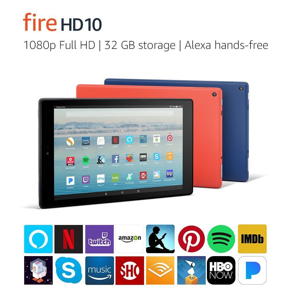 Amazon FIRE HD 10 Tablet $99