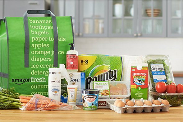 Free 30 Days Unlimited Grocery Delivery w/Amazon Fresh
